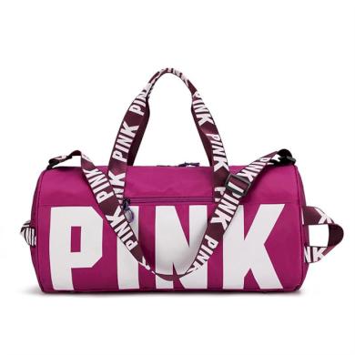 Sportovní taška do posilovny na jógu PINK Violet Lifestyle 21031905343611407V