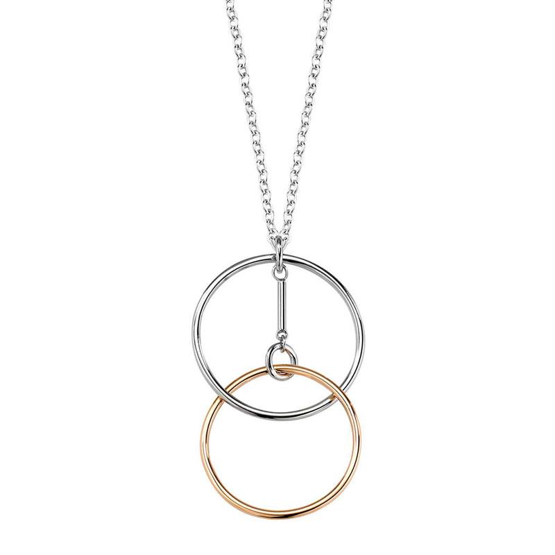 Dámský náhrdelník Morellato Cerchi SAKM12
