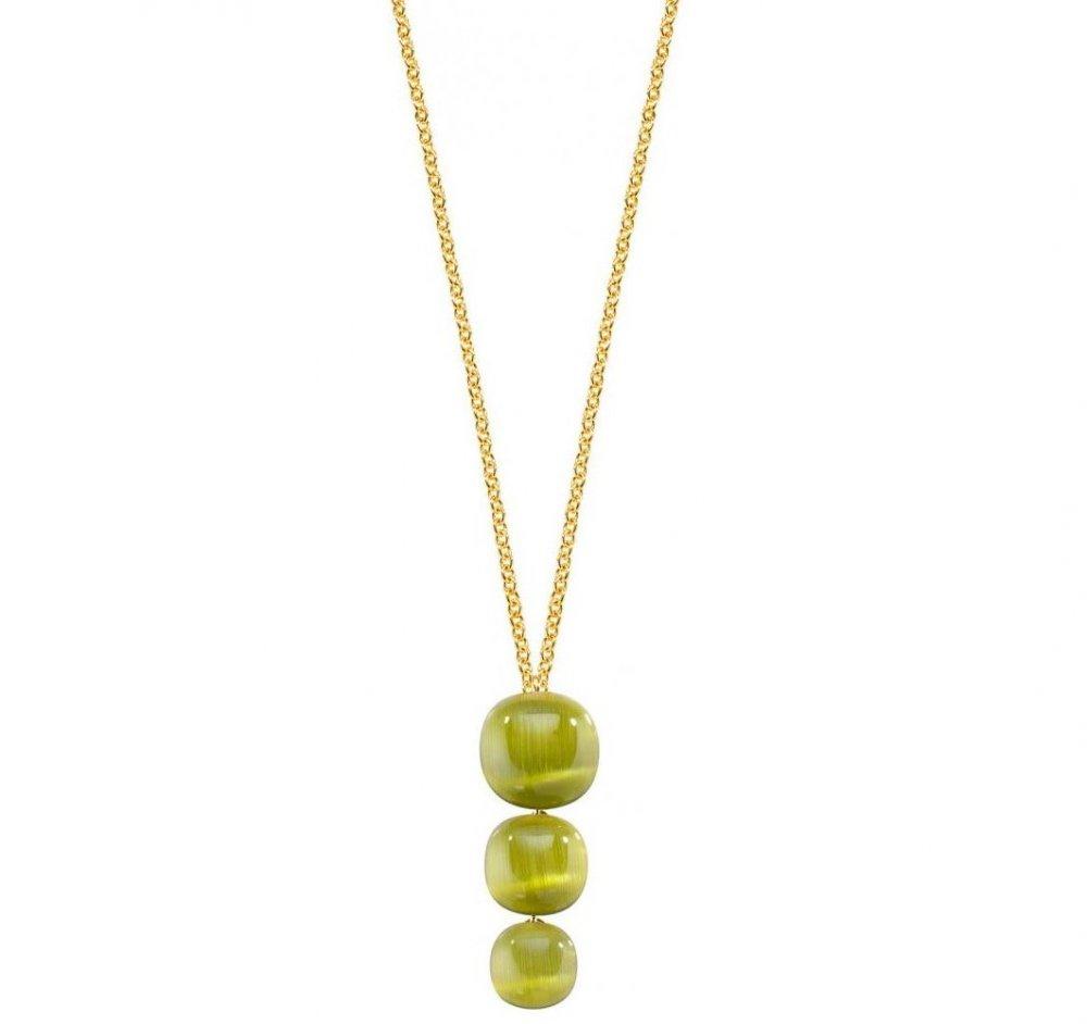 Dámský stříbrný náhrdelník Morellato Gemma SAKK18