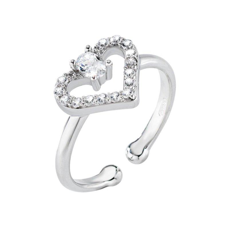 Dámský stříbrný prsten Morellato Cuori SAIV09