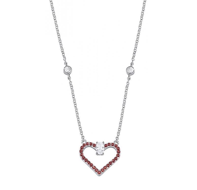 Dámský stříbrný náhrdelník Morellato Cuori SAIV01