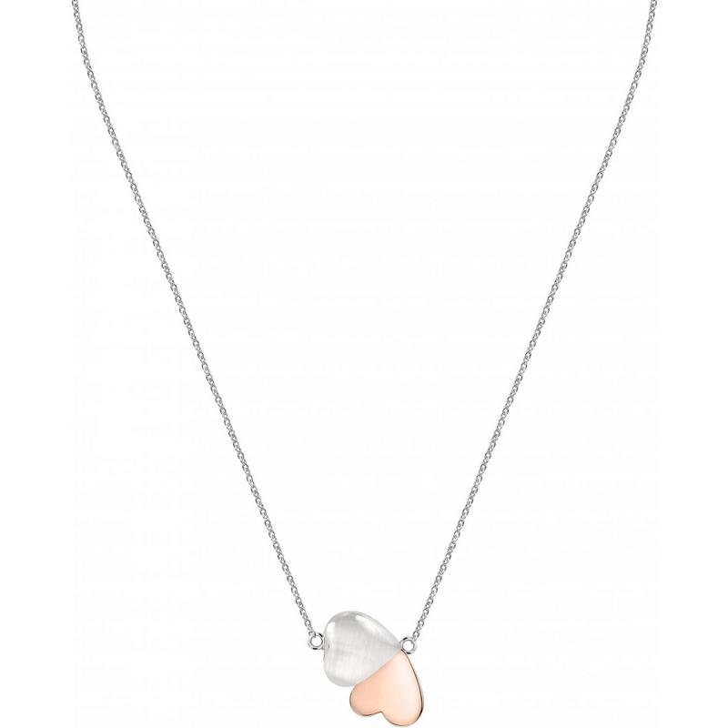 Dámský stříbrný náhrdelník Morellato Cuore SASM13
