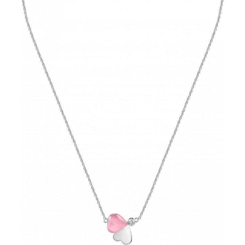 Dámský stříbrný náhrdelník Morellato Cuore SASM09