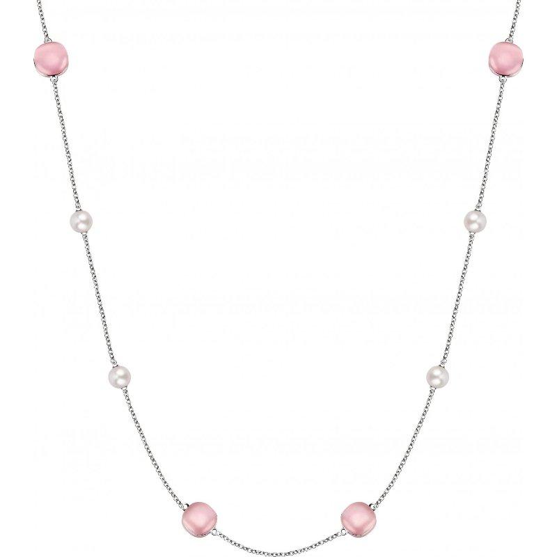 Dámský stříbrný náhrdelník Morellato Gemma Perla SATC01