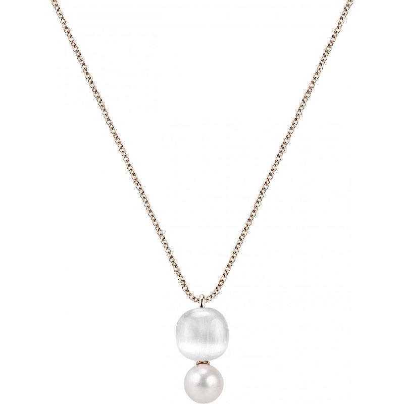 Dámský stříbrný náhrdelník Morellato Gemma Perla SATC02