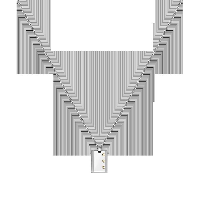 Pánský náhrdelník Morellato Gold SATM01