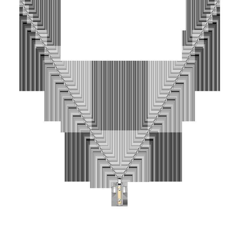 Pánský náhrdelník Morellato Gold SATM02