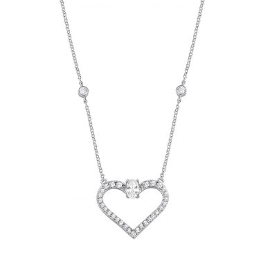 Dámský stříbrný náhrdelník Morellato Cuori SAIV02