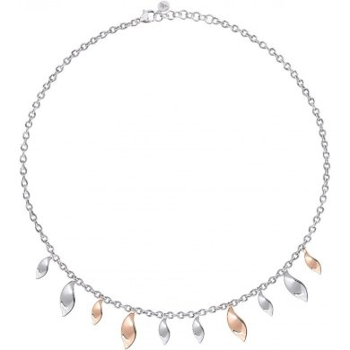 Dámský stříbrný náhrdelník Morellato Foglia SAKH49