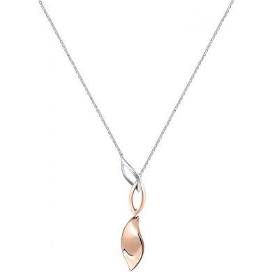 Dámský stříbrný náhrdelník Morellato Foglia SAKH46