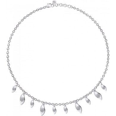 Dámský stříbrný náhrdelník Morellato Foglia SAKH43