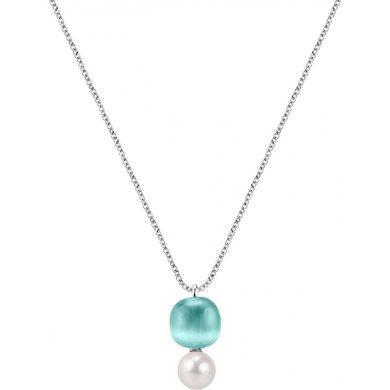 Dámský stříbrný náhrdelník Morellato Gemma Perla SATC03