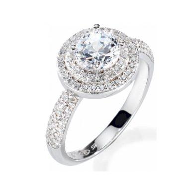 Dámský stříbrný prsten Morellato Tesori SAIW08