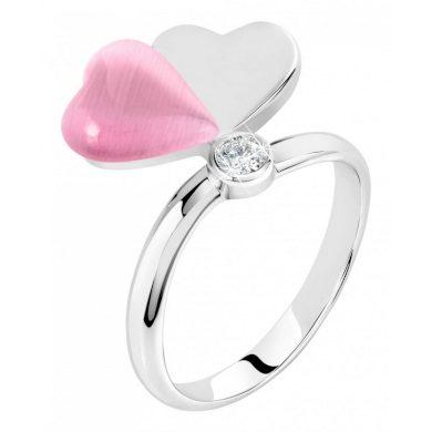 Dámský stříbrný prsten Morellato Cuore SASM12