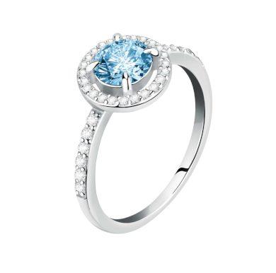 Dámský stříbrný prsten Morellato Tesori SAIW97