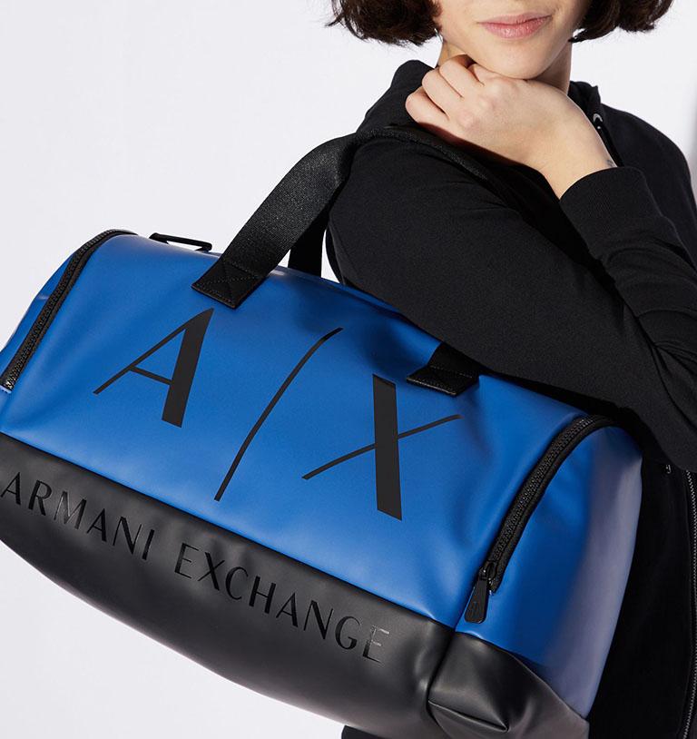 Sportovní taška Armani Exchange 942551 9P856 Blue