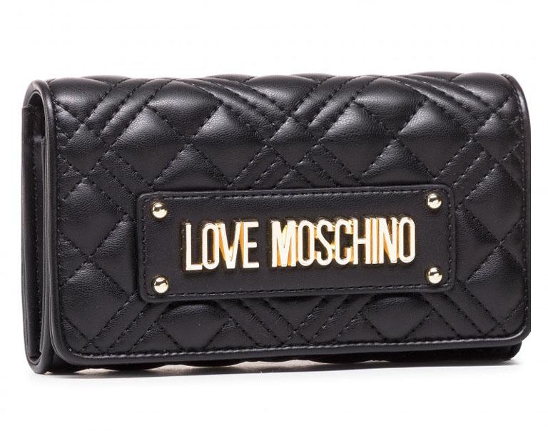 Peněženka LOVE MOSCHINO JC5603PP1DLA0000 Nero