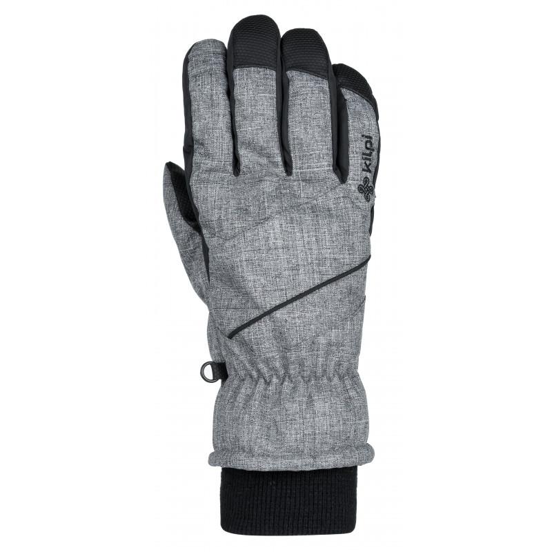 Kilpi Lyžařské rukavice Tata šedá