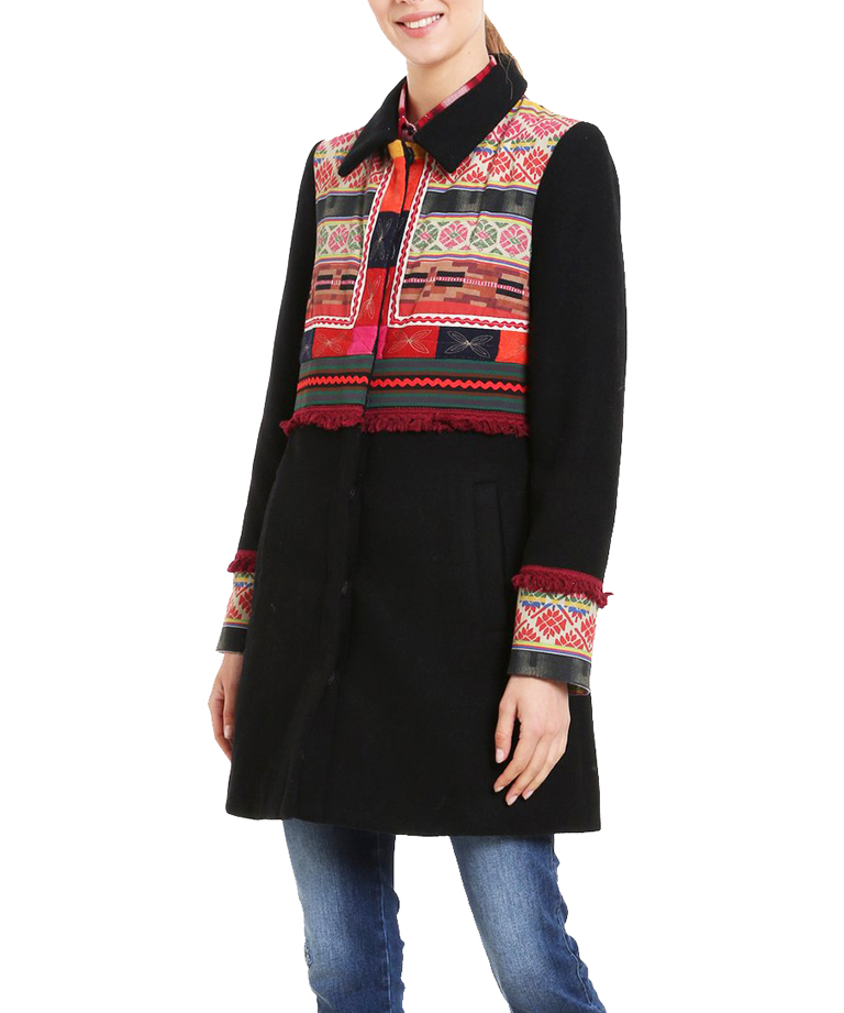 Zimní kabát Desigual 18WWEWAR/2000