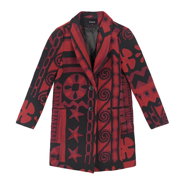 Zimní kabát Desigual 19SWEWX8/3007