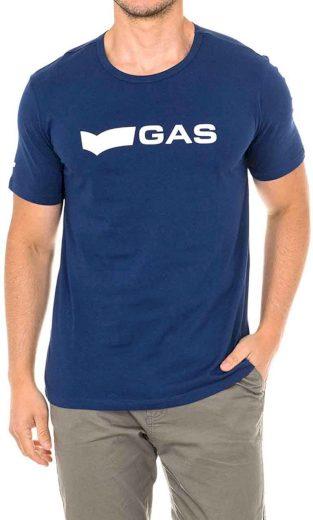 Pánské tričko s logem GAS GATS01BASIC T-SHIRT