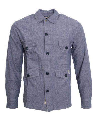Modrošedý kabátek Pepe Jeans