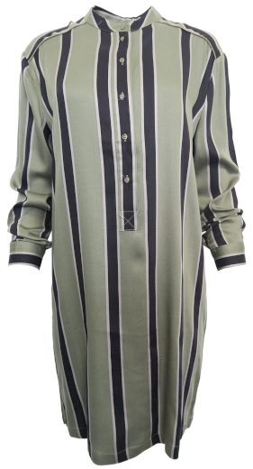 Pruhované košilové šaty YAYA