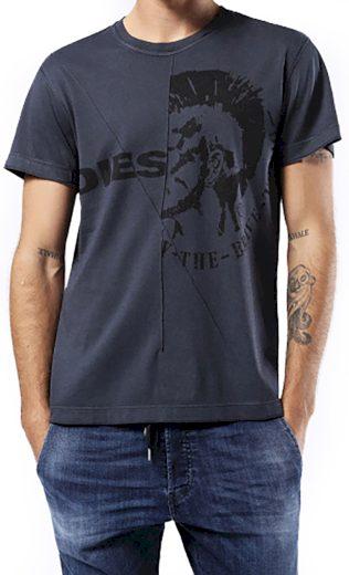 Pánské tričko s potiskem hlavy Diesel