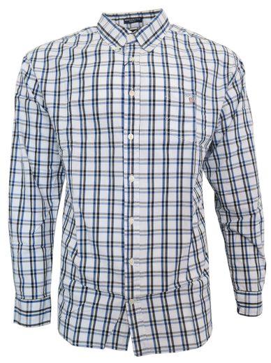 Pánská košile GANT- modro/žluté pruhy
