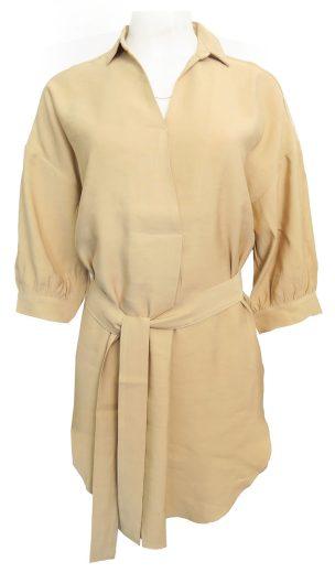 Košilové šaty s límečkem YAYA