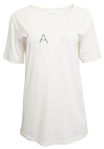 Tričko s barevným nápisem YAYA