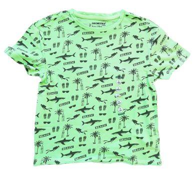Chlapecké zelené tričko Orchestra