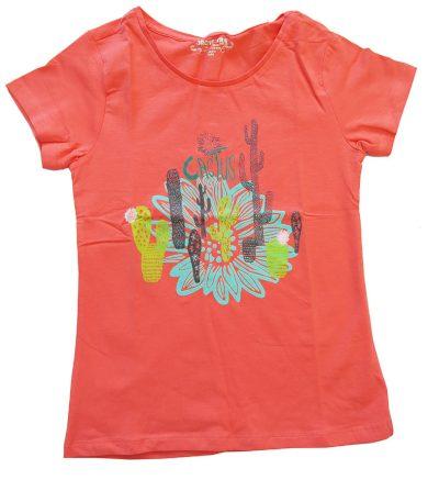 Oranžové tričko s kaktusy Orchestra
