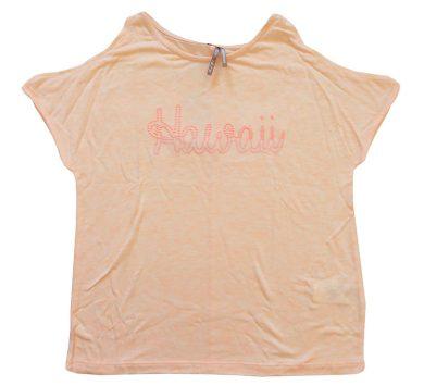 Oranžové tričko s nápisem Hawaii Orchestra