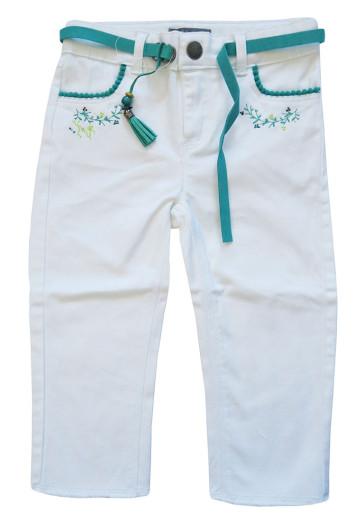 Dívčí bílé kalhoty Orchestra