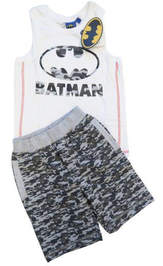 Chlapecké šortky a tílko se znakem Batmana Orchestra