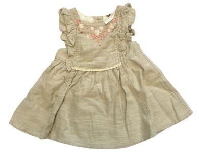 Béžové kojenecké šaty Orchestra