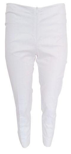 Bílé kalhoty s vyšíváním Sandro Ferrone