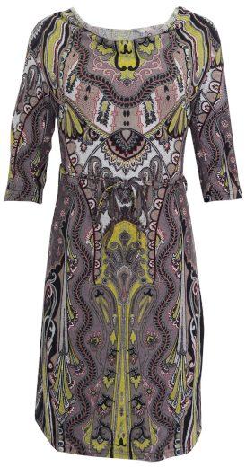 Vzorované úpletové šaty Morgan