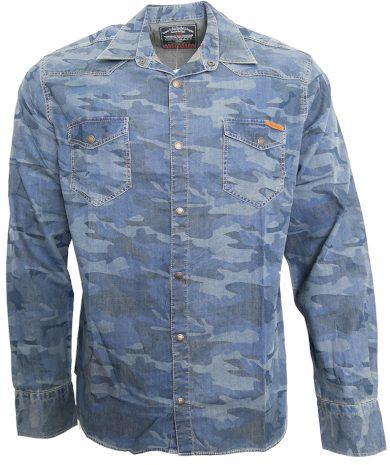 Pánská army košile Cibo & Baxx