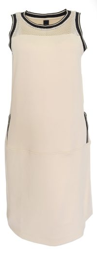 Pudrové šaty s kapsičkami B.C.