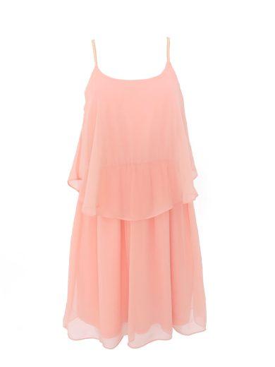 Volánkové šaty na ramínka Morgan