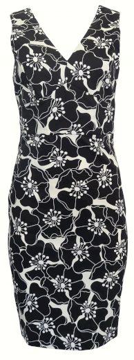 Úzké šaty s květy Sandro Ferrone