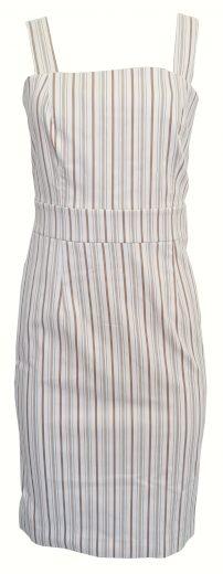 Úzké proužkované šaty Sandro Ferrone