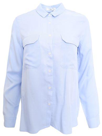 Modrá košile Mango