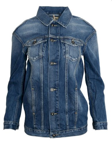Džínová bunda volného střihu Pepe Jeans