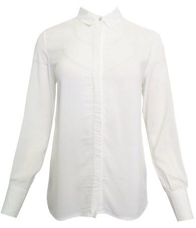 Basic bílá košile Stradivarius