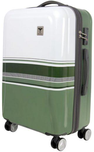 Cestovní kufry TRAWORLD - zelená