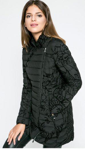 Dámská bunda s květinovým vzorem Desigual