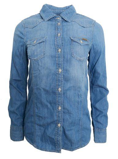 Džínová košile s kapsami Pepe Jeans